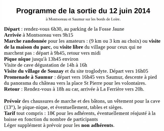 Programme sortie1206